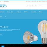 La vente d'éclairage led moins cher en ligne