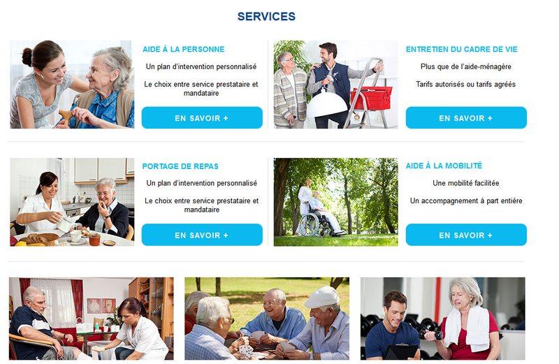 service de maintien à domicile pour personnes âgées en IDF