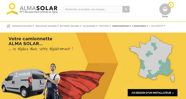 vente en ligne de panneau solaire pas cher