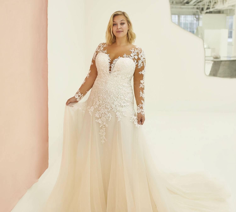 Comment choisir sa robe de mariée si l'on est un peu forte